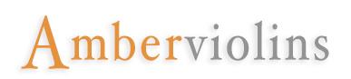 amber violins logo